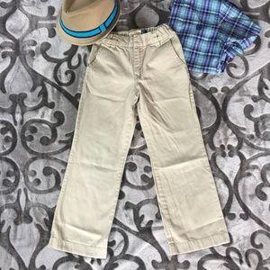 Boys Gap Khakis Size 6 adjustable waist